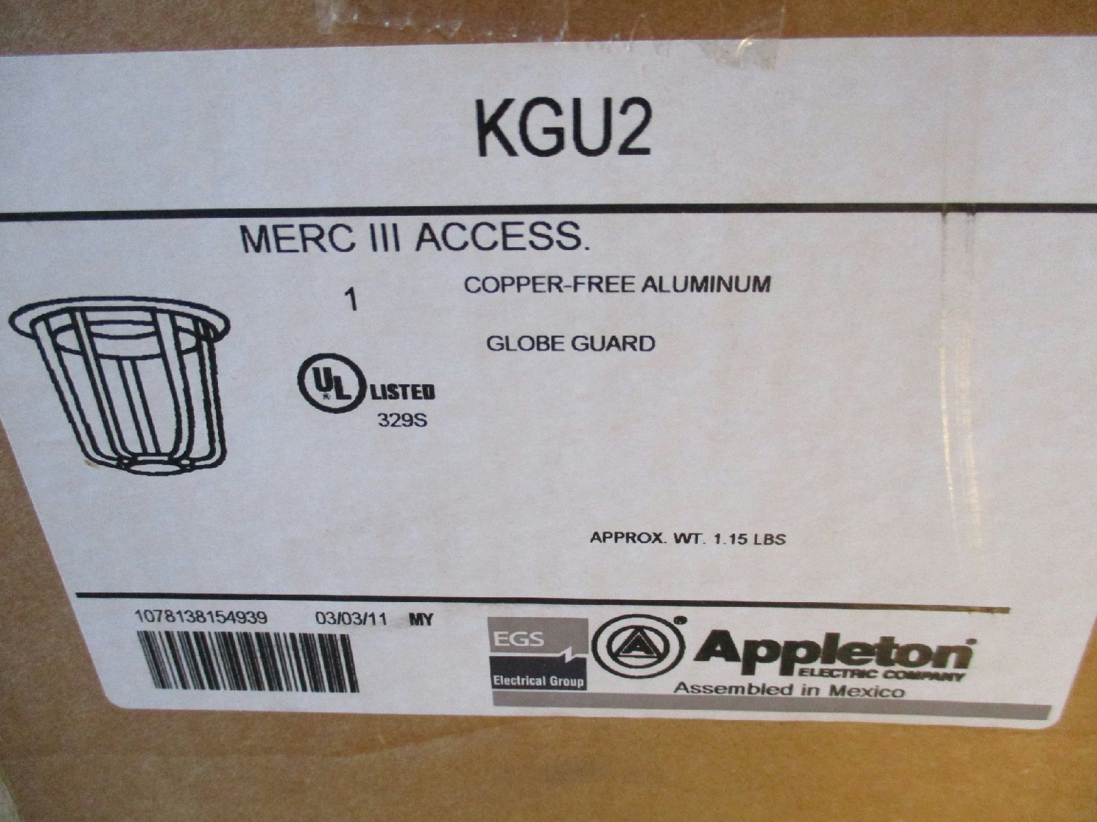 Appleton KPWBL1075-G-MT 100W HPS Wall Mount Fixture New
