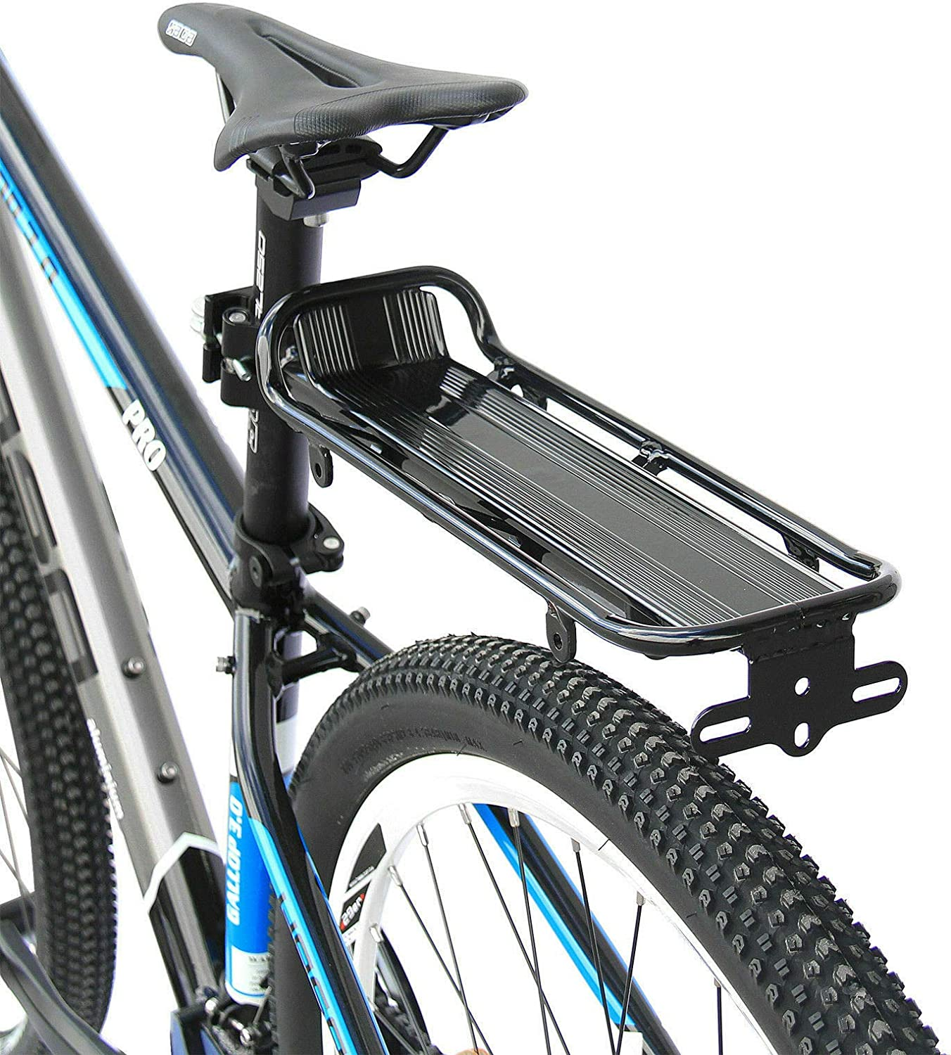 CyclingDeal Bicycle Bike Quick Release Alloy Seatpost Mount Rear Rack Carrier