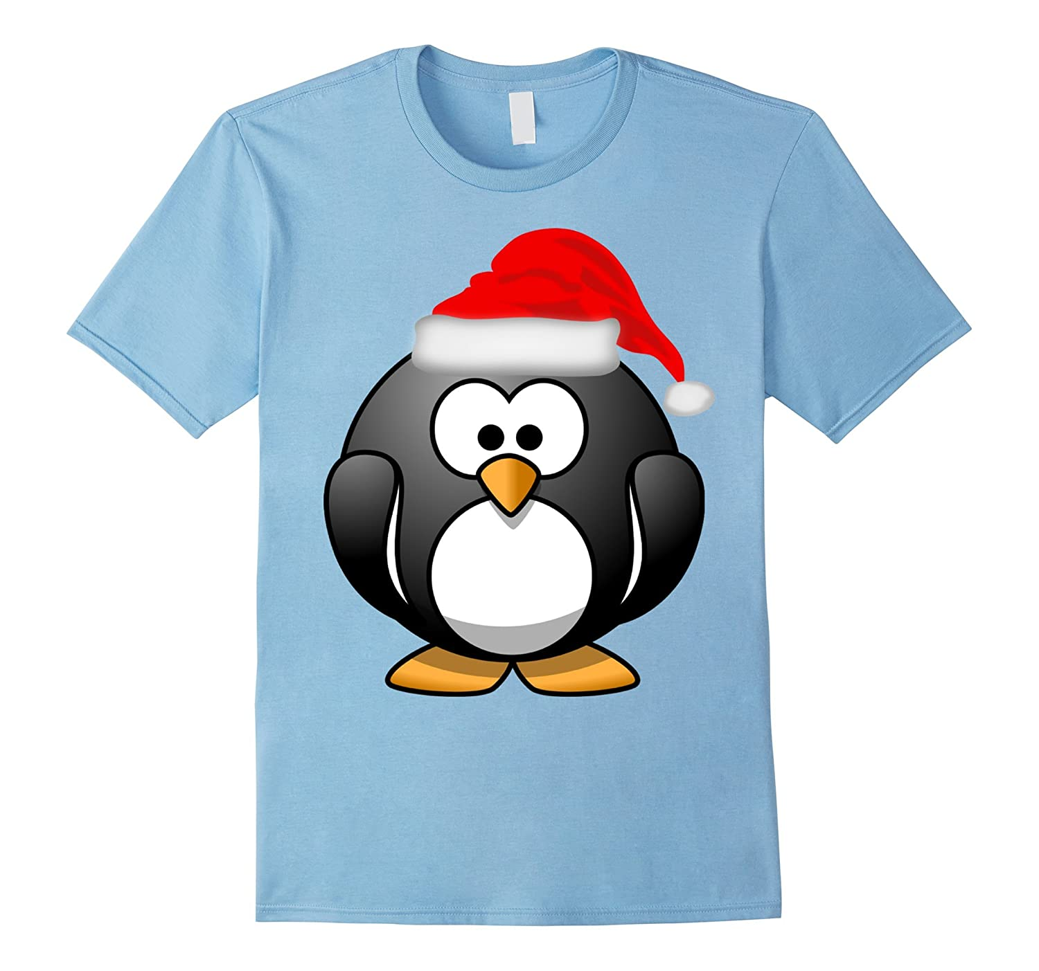 the christmas penguin t shirt goatstee. Black Bedroom Furniture Sets. Home Design Ideas