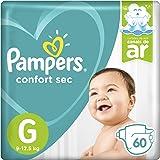 Fralda Pampers Confort Sec  60, Unidades, G