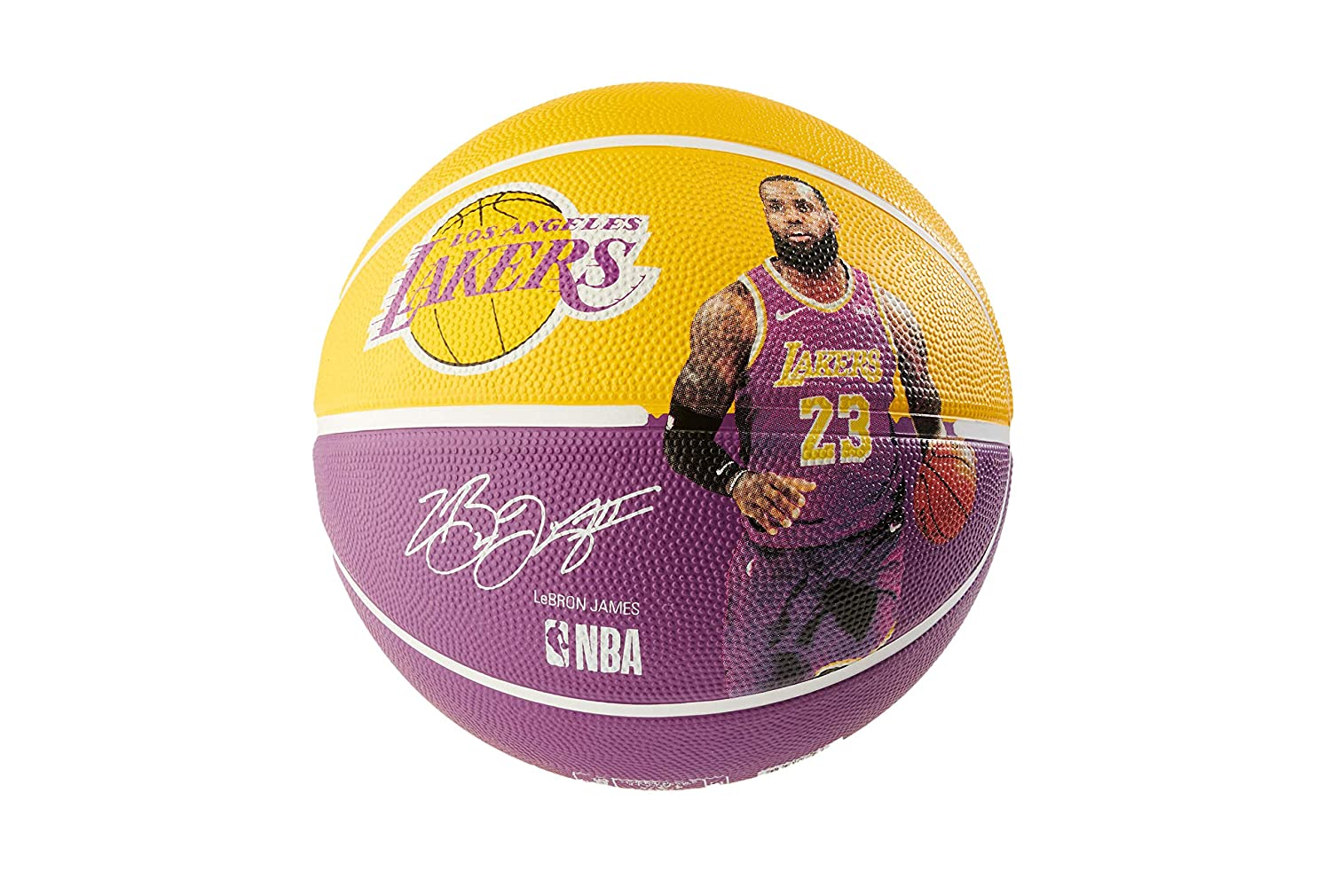 Spalding NBA Player Lebron James MIS 7: Amazon.es: Deportes y aire ...
