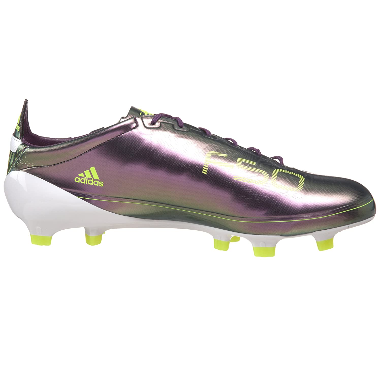 e8c6b2e83e81 Amazon.com | adidas Men's F50 Adizero TRX FG Soccer Shoe, Chameleon  Purple/White/Electricity, 10 M US | Soccer