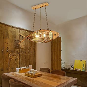 LED Chandeliers, Japanese Bamboo Art Weaving Lamps Lanterns Korean  Restaurant Cafe Clothing Store Hanging Lamp