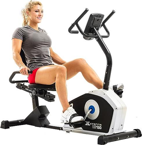 XTERRA Fitness SB150 Recumbent Exercise Bike