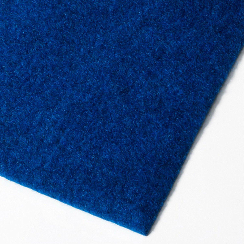 Tapis gazon artificiel casa pura® au mètre | moquette extérieure | nombreuses couleurs au choix | balcon, terrasse, jardin etc. | bleu - 400x200cm