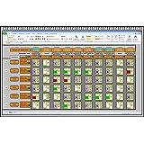 Elektronischer digitaler Dienstplaner Monatsplan Schichtplaner Einsatzplan Excel Software mit persönlichem Dienstplan und Lohnabrechnung