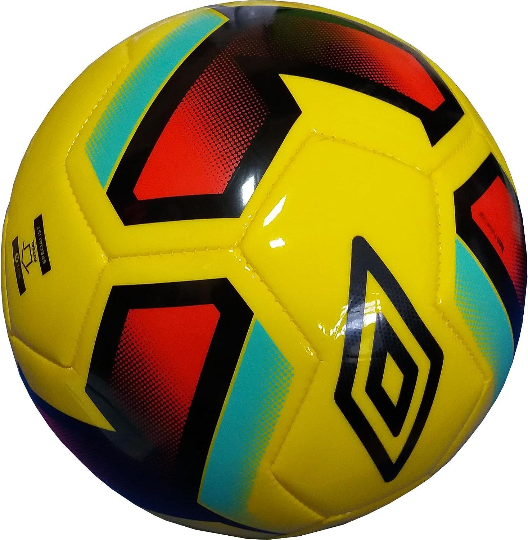 Umbro 20631U-Dx7 Balón, Amarillo/Rojo/Negro, Talla Única: Amazon ...