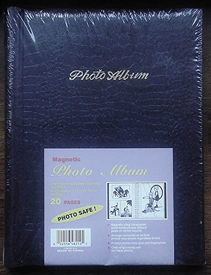 Are magnetic photo albums safe