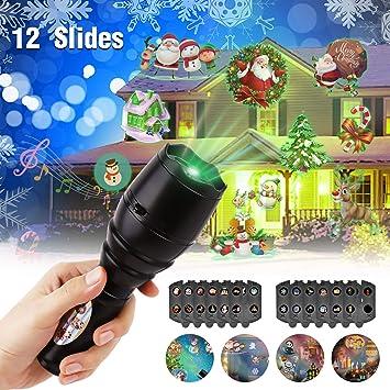 Linternas Proyección para niños con Música, Luces Proyector con ...