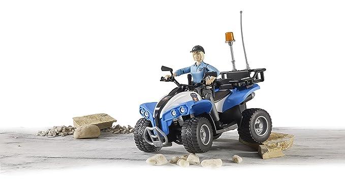 Bruder - Quad Policía con Piloto