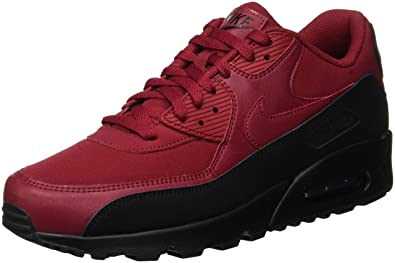 separation shoes 3c490 42e78 Nike Men s Air Max 90 Essential Gymnastics Shoes, (Black Red Crush 010)