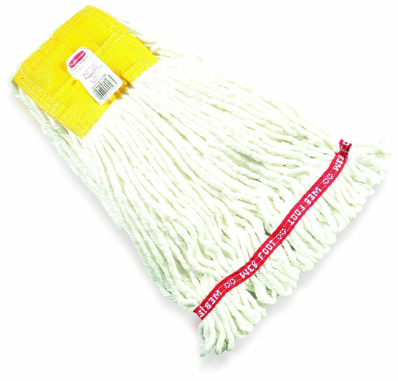 1 Rubbermaid Commercial Web en microfibre de pied Tube Serpill/ère blanc 1 Large