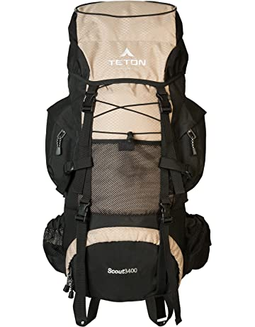 TETON Sports Scout 3400 Internal Frame Backpack  High-Performance Backpack  for Backpacking, Hiking 46e8d488d5