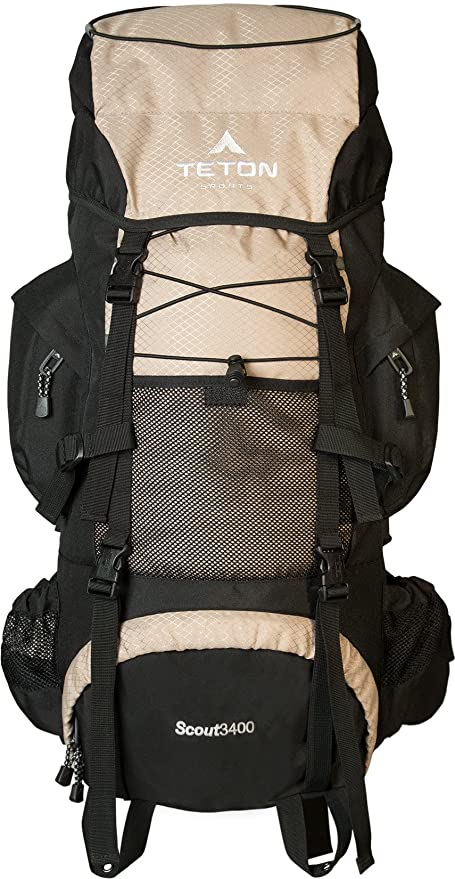 TETON Sports Scout 3400 Internal Frame Backpack  High-Performance Backpack  for Backpacking 8a9d5a3f930a7