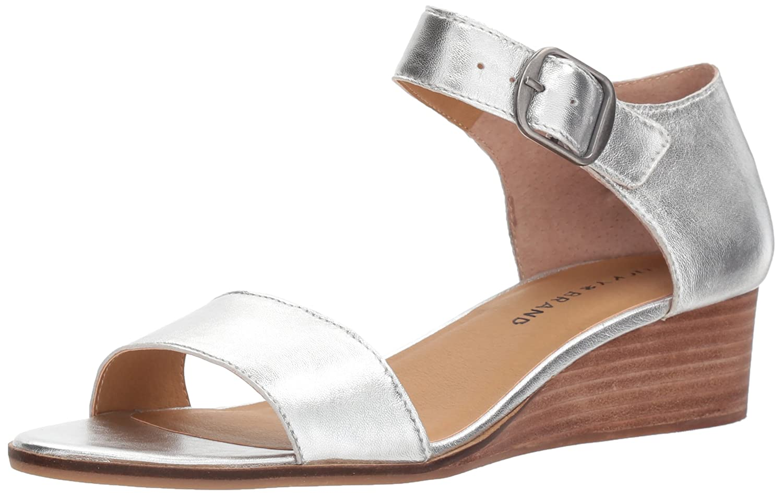 [Lucky Brand] Women's Riamsee Wedge Sandal [並行輸入品] 10 B(M) US プラチナム B077GCCLZJ