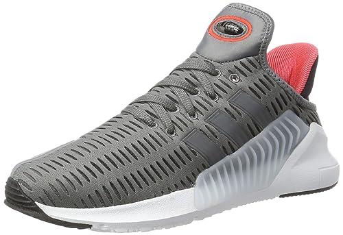 Adidas Climacool 02/17, Zapatillas de Gimnasia para Hombre, Gris (Grey Four F17/Grey Five F17/Ftwr White), 46 EU