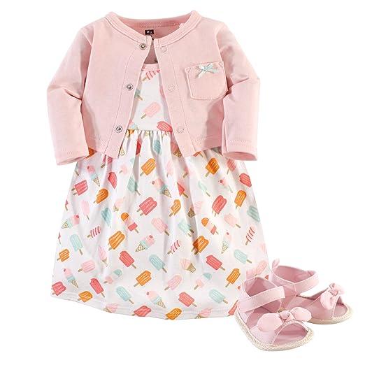 c07fbdade8 Amazon.com  Hudson Baby 3 Piece Dress