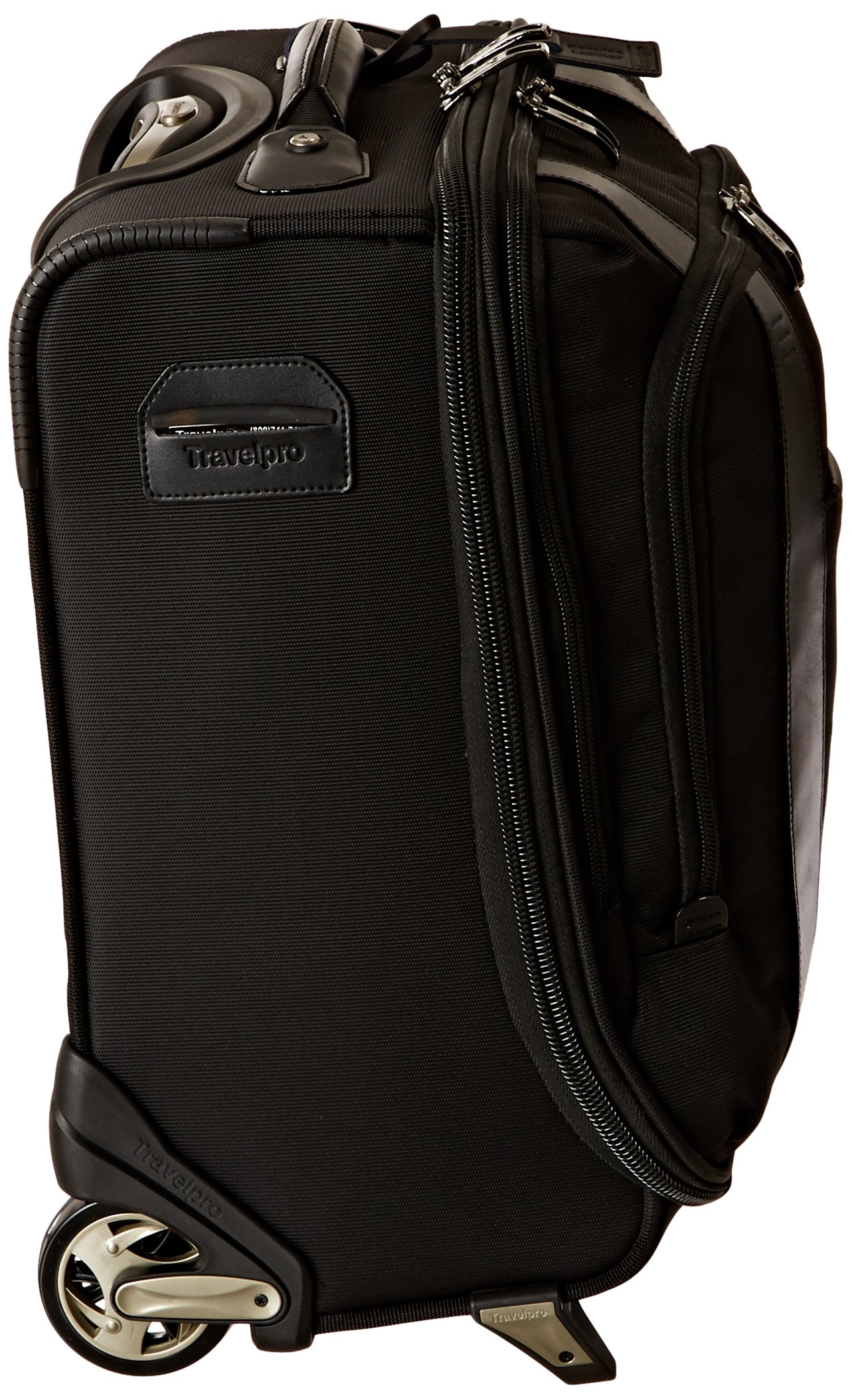 Travelpro Executive Choice Crew 16 Inch Rolling Business Brief, Black, One Size by Travelpro (Image #3)