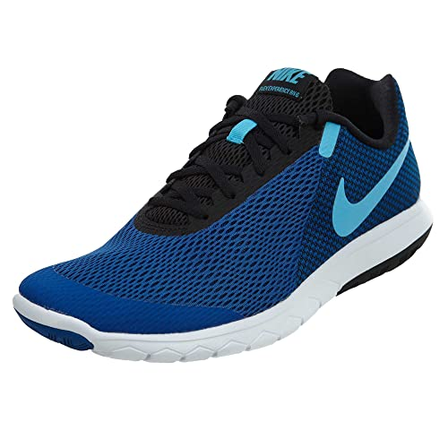 b3648dec73b Nike Men s Flex Experience Rn 6 Jay Blue Fury-Blk-Wht Running Shoes ...