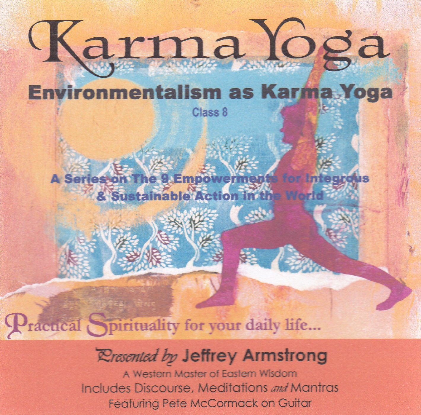 Environmentalism as Karma Yoga (2 CD Set): Amazon.com: Books