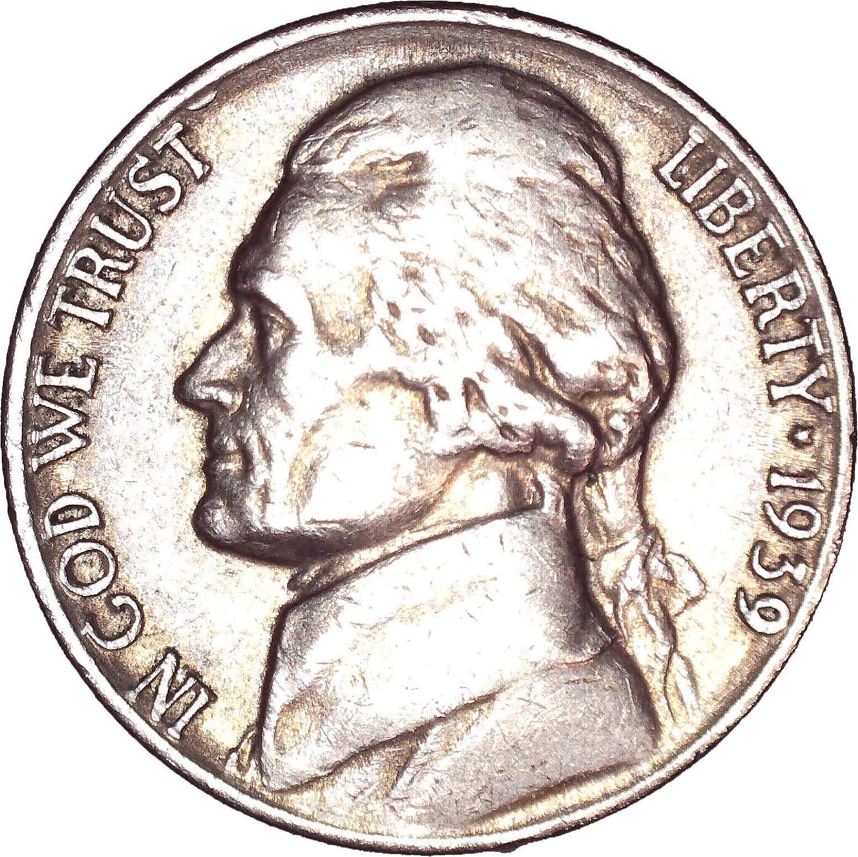 1939-D Jefferson Nickel BU Uncertified