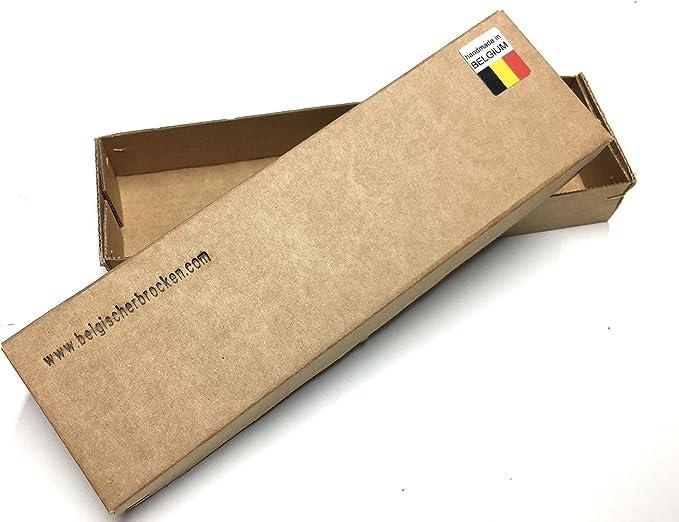 grano 8000-10000 Belgischer Brocken piedra de afilar piedra de afilar amarilla 175x40 mm