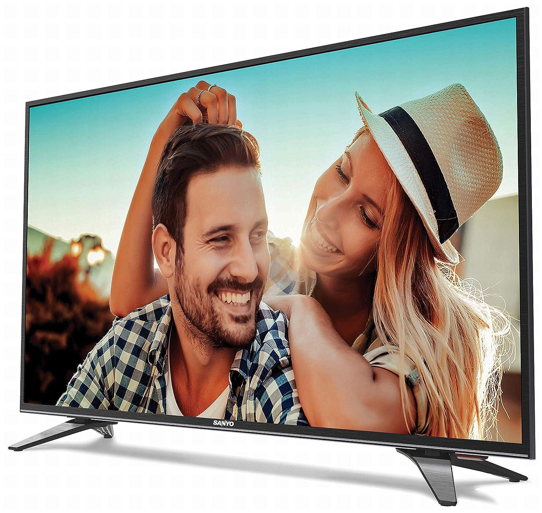 Sanyo 108 cm (43 Inches) Full HD IPS LED TV XT-43S7200F (Dark Grey)
