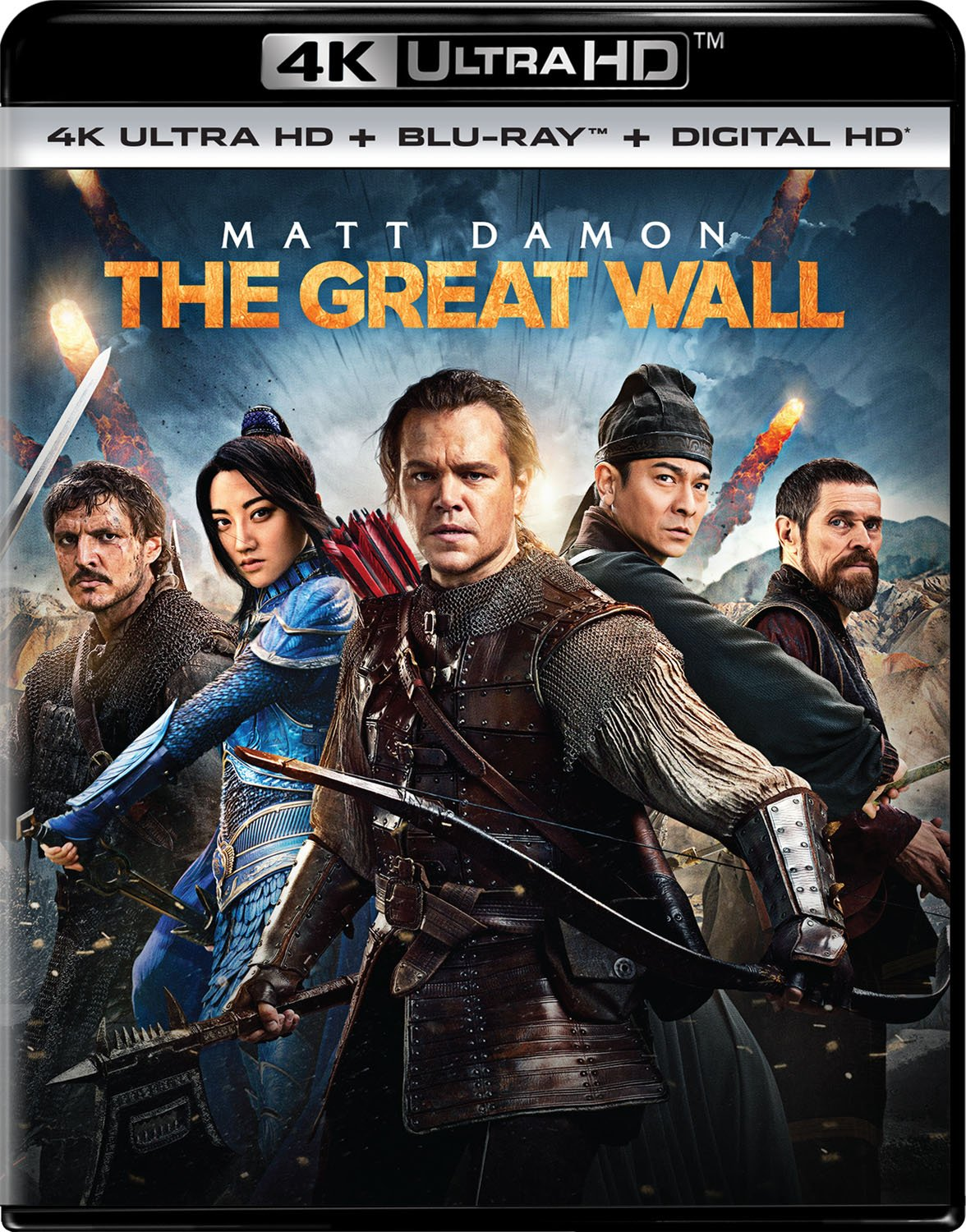 The Great Wall (2016) 720p + 1080p BluRay x264 ESubs AC3 Dual Audio [Hindi DD5.1 + English DD5.1]