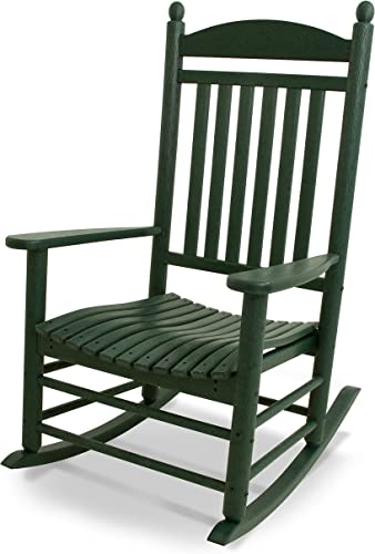 POLYWOOD J147GR Jefferson Green Rocker