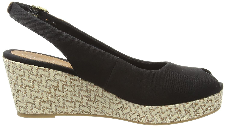 Tommy Hilfiger Elba 17D, Alpargatas para Mujer, Noir (990), 42 EU: Amazon.es: Zapatos y complementos