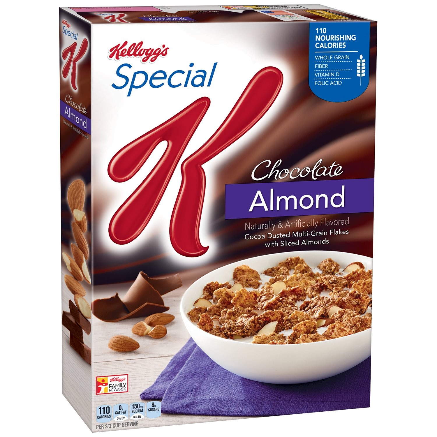 Special K Cereal, Chocolate Almond, 12.7 Ounce
