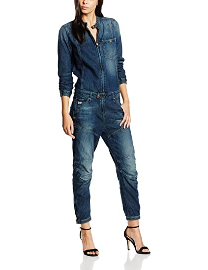 726e95f02141 G-Star Women s Relaxed Jumpsuits - Blue - 8  Amazon.co.uk  Clothing