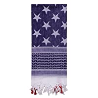 Rothco Stars and Stripes Shemagh Tactical Desert Keffiyeh Scarf