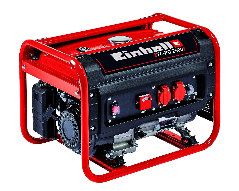 Einhell Generador Eléctrico (de Gasolina) TC-PG 2500, 2400 W, 0 V