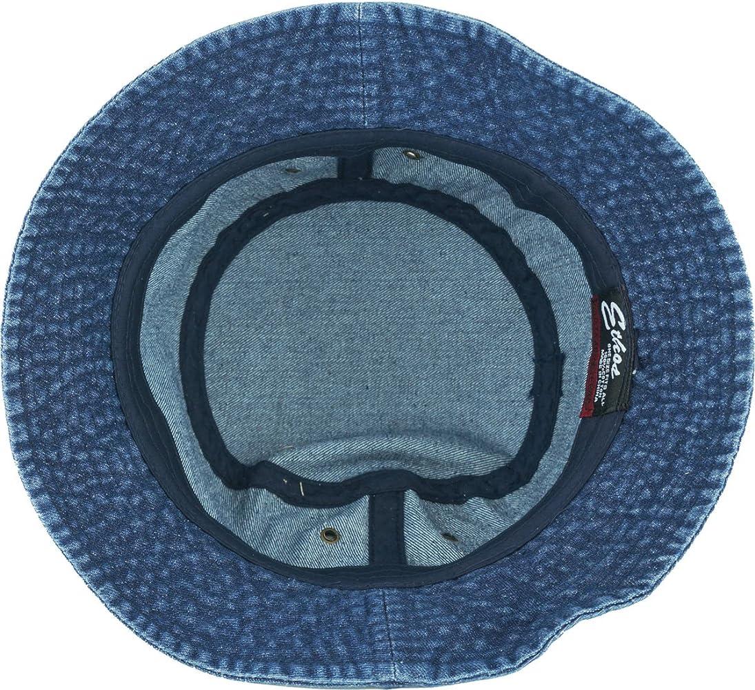 One KB-BUCKET1 DDM The Go-to Bucket Hat for OUTDOOR Activities SolidDark Denim
