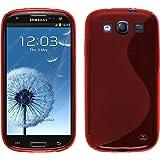 PhoneNatic Custodia Samsung Galaxy S3 Neo Cover rosso S-Style Galaxy S3 Neo in silicone + pellicola protettiva