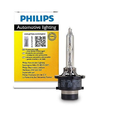 Amazon.com: Luz de faro Philips D3R estándar ...
