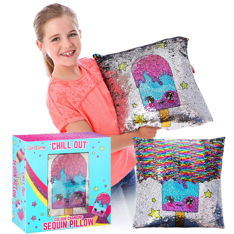 Magical Reversible Sequin Glitter Pillow & Pillow Case