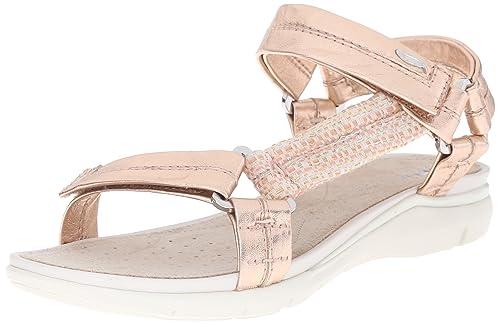 classic styles buy cozy fresh Geox Women's D Sandal Sukie Flat Sandal