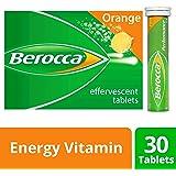 Berocca Energy Vitamin, Orange - 30 Effervescent Tablets