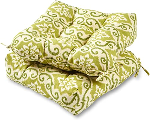 Greendale Home Fashions 20-inch Outdoor Chair Cushion set of 2