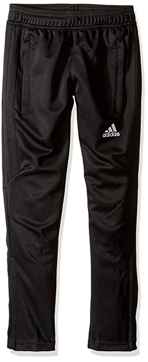 adidas Youth Soccer Tiro 17 Pants, X-Large - Black/White