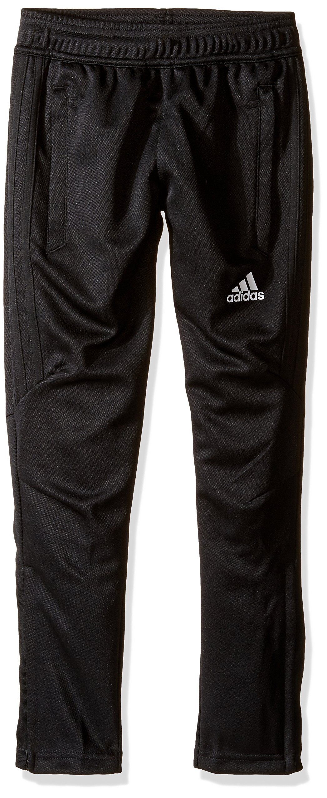 adidas Youth Soccer Tiro 17 Pants, XX-Small - Black/White