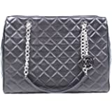 38f55f17503f MICHAEL Michael Kors Susannah Womens Large Quilted Leather Handbag TOTE