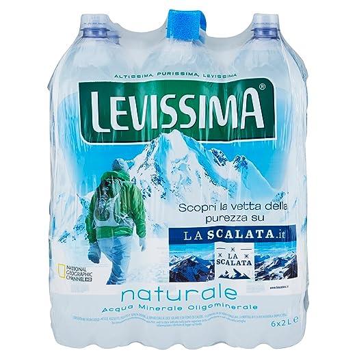 4 opinioni per Levissima Acqua Minerale Naturale 2L (Confezione da 6)