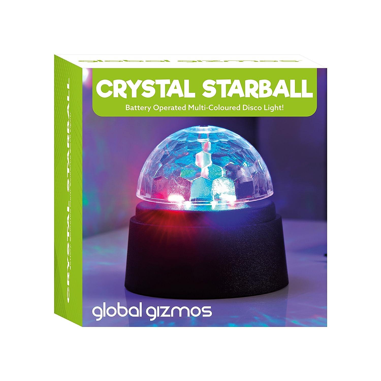 Sfera luminosa da discoteca a batterie in vetro Global Gizmos