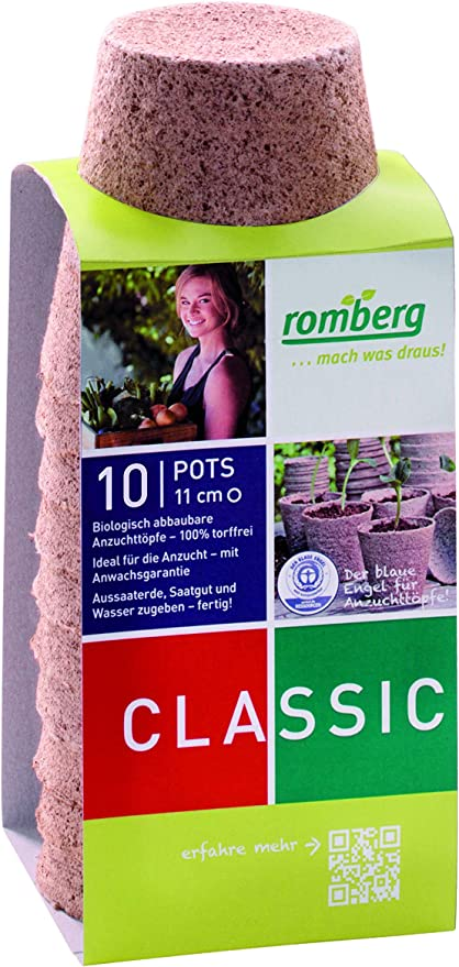 Maceteros Romberg Classic ø redondo 11 cm (10 piezas ...