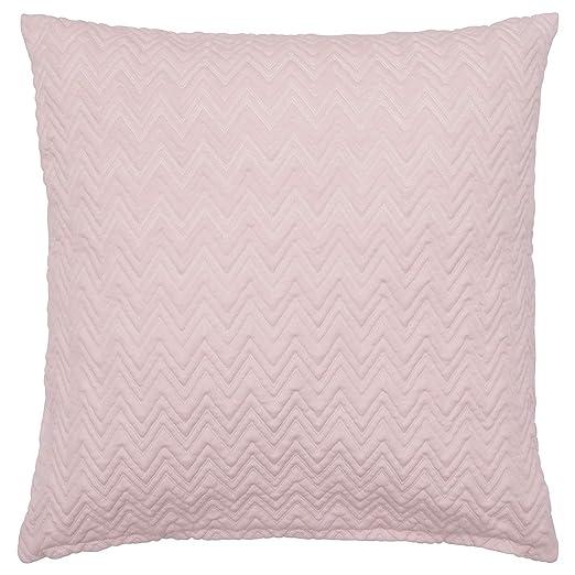 MBI - Funda de cojín (Zigzag, 50 x 50 cm), Color Rosa ...