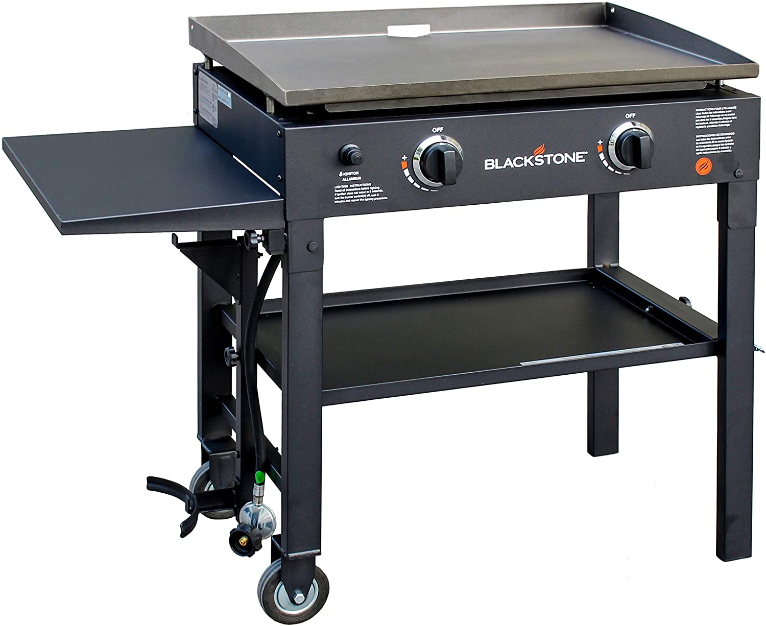 Blackstone 28-inch Outdoor Flat Top Gas Grill Griddle Station