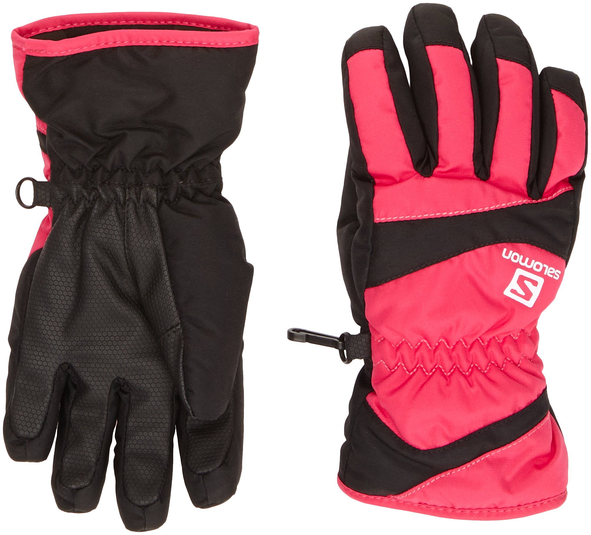 Salomon Juniors' Electre Glove Hot Pink / Black Medium by Salomon